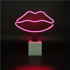 Neon 'Lips' Sign