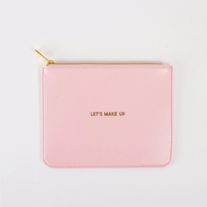 Leatherette Pouch  Lets Make up