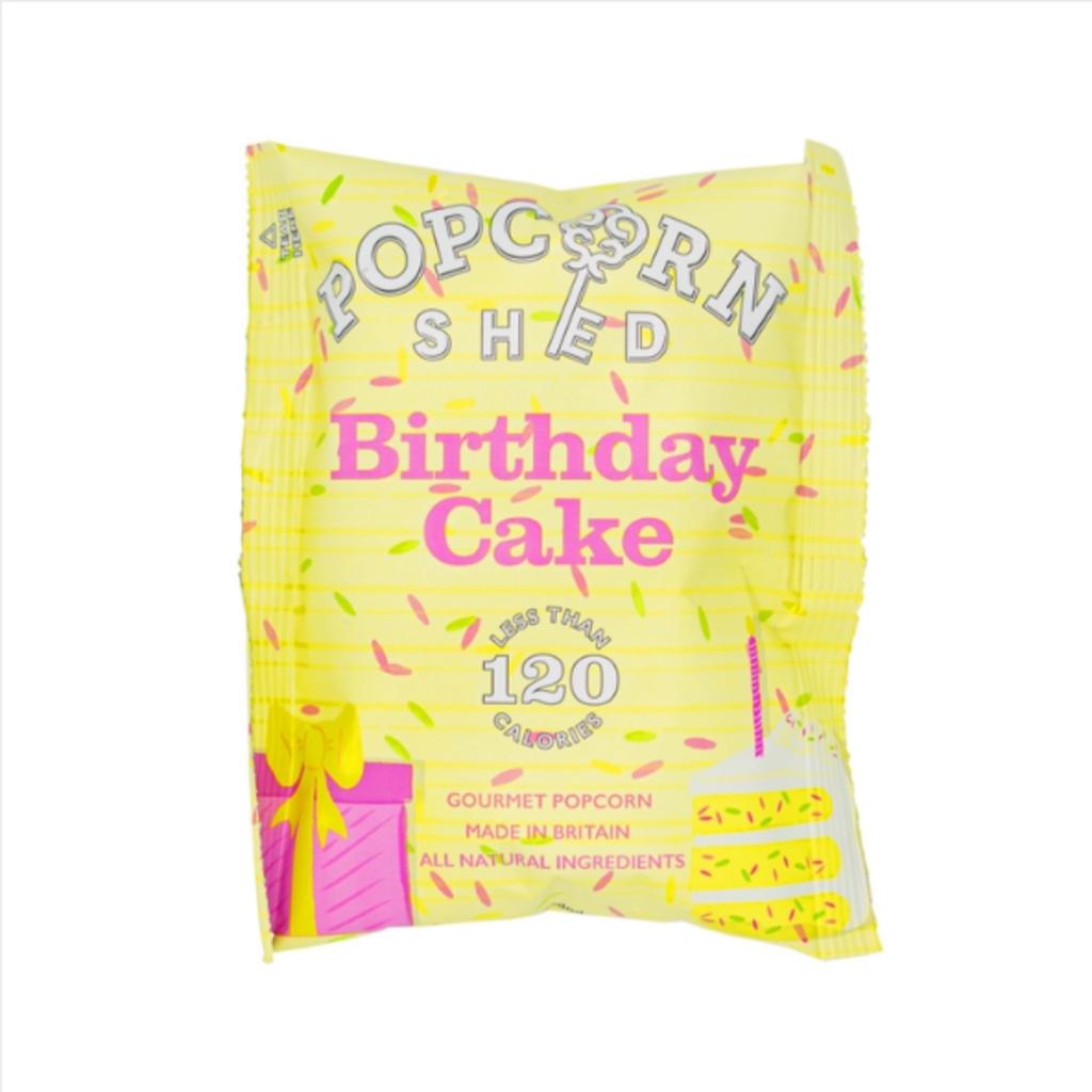 Birthday Cake Gourmet Popcorn Snack Pack 24g
