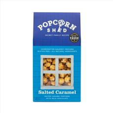 Salted Caramel Gourmet Popcorn 80g Shed