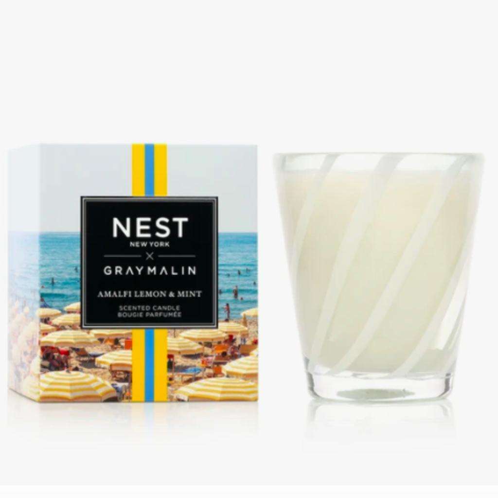 Nest x Gray Malin Amalfi Lemon & Mint classic candle