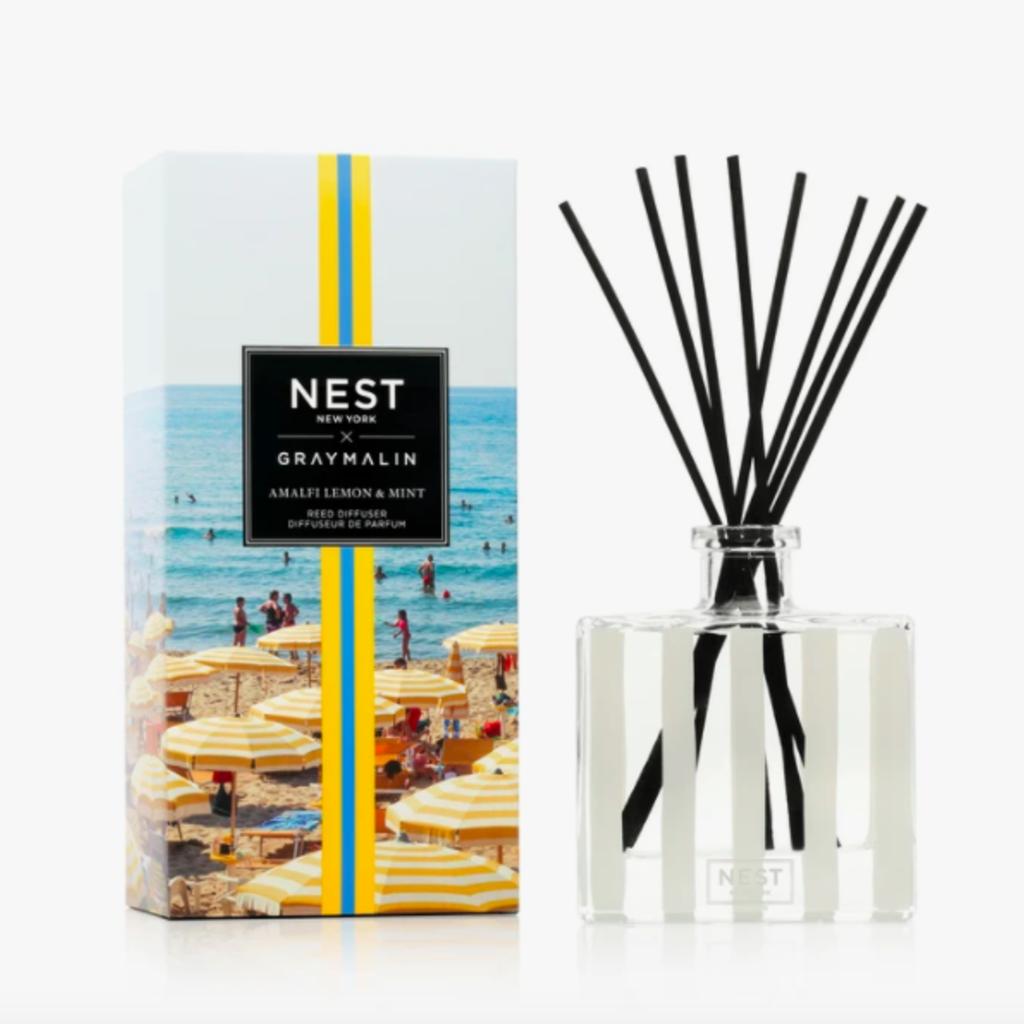 Nest x Gray Malin Amalfi Lemon & Mint diffuser