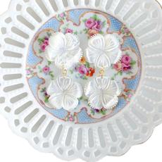 Jolene Floral White Drop Design