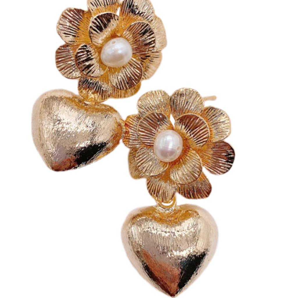Goldie Floral Hearts