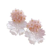 Magnolia Floral Clusters - light pink