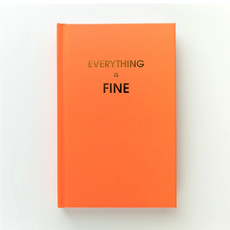 JRNB007 Everything is Fine - Bright Journal