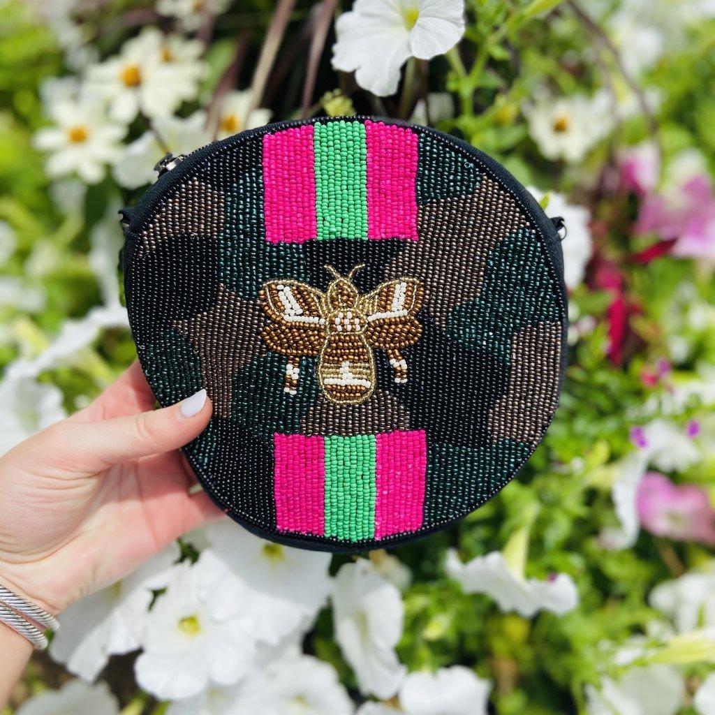 Round Camo Bee bag