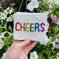 Cheers Beaded pouch