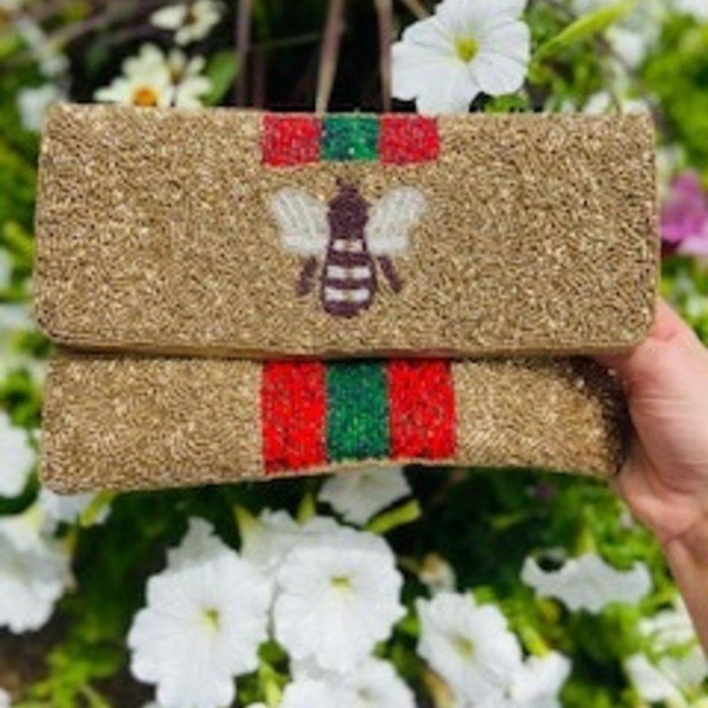 Mini Gold Bee Bag