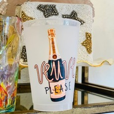 Veuve Please Cups (set of 6)