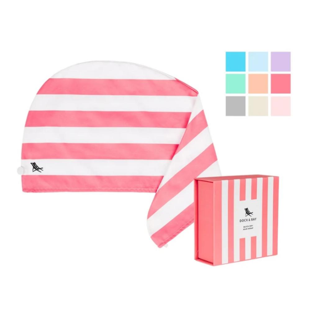 Quick Dry Hair Towel - Bermuda Pink