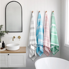 Quick Dry Bath Towel -Peppermint Pink - Large