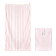 Quick Dry Bath Towel Peppermint Pink - Extra Large