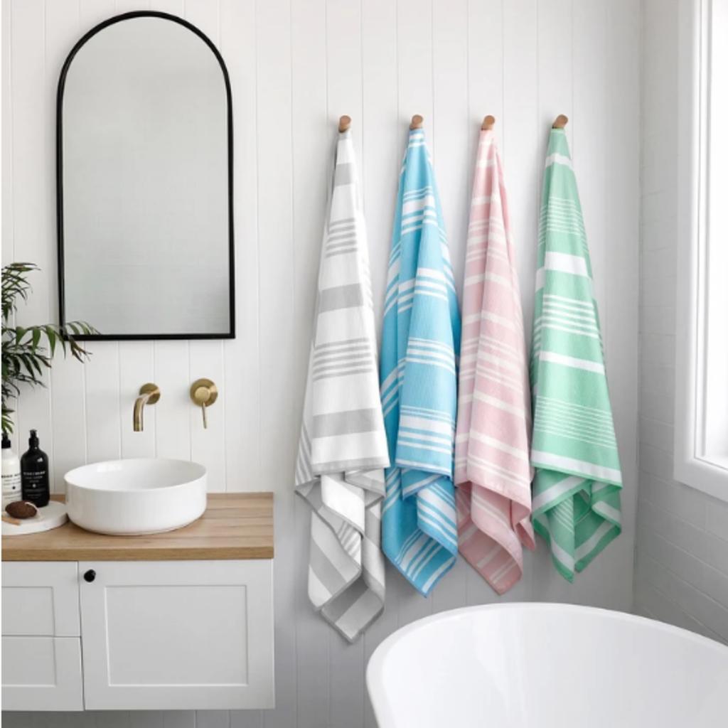 Quick Dry Bath Towel - Jasmine White - Large