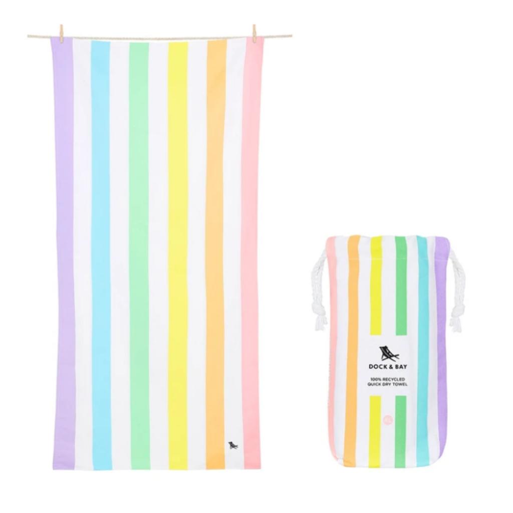 Beach Towel - Summer - Unicorn Waves - Extra Large