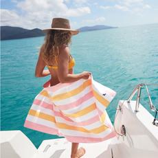 Beach Towel - Summer - Peach Sorbet - Extra Large