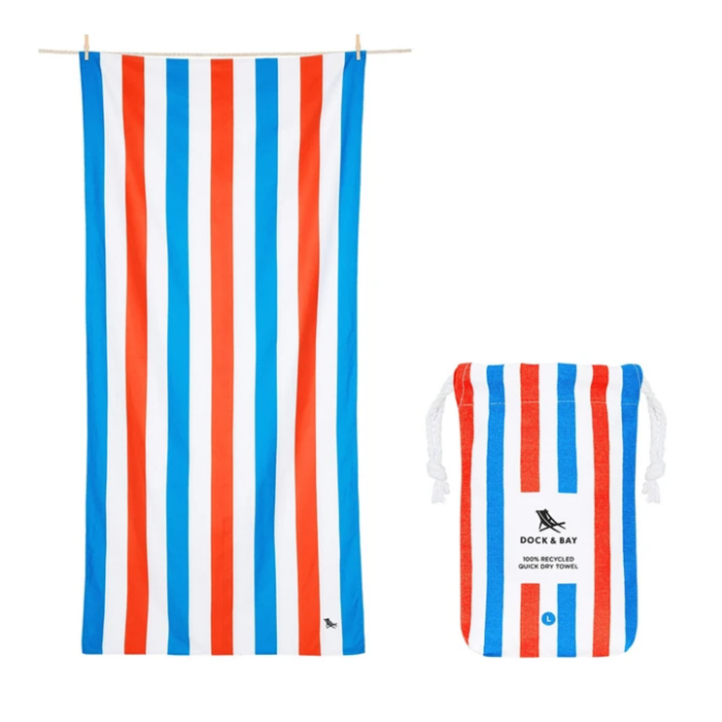 Quick Dry Beach Towel Poolside Parties - Large