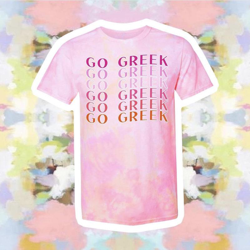 2021 GO GREEK T-shirt
