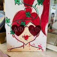 Acrylic Sunglass Girls