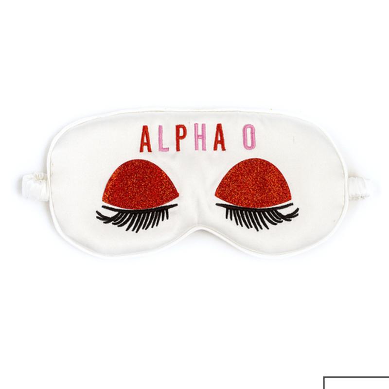 AOPi Satin Sleep Mask