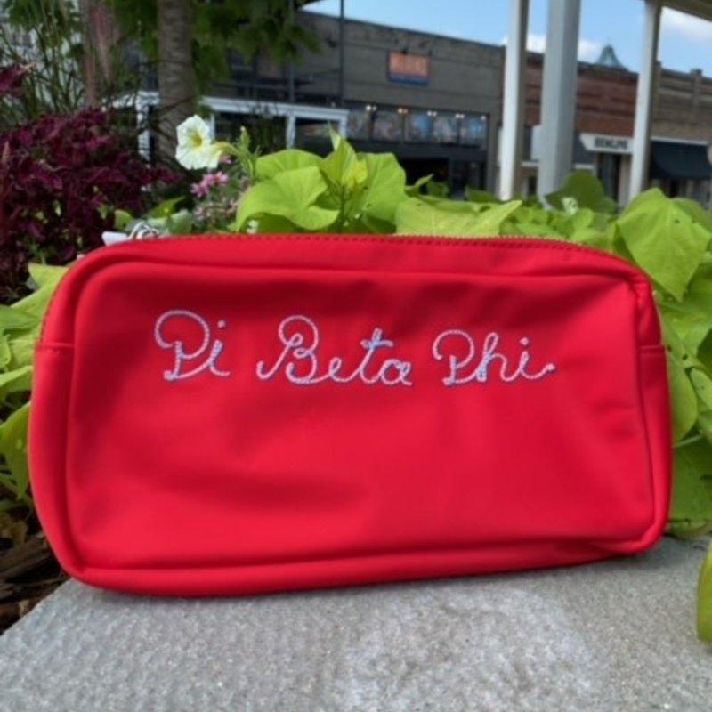 PBP embroidered makeup bag