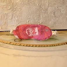 Vintage Burberry Silk Eye Mask- pink/hot pink