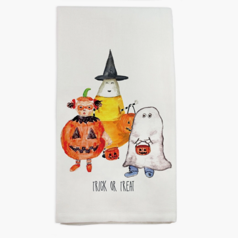 Halloween Gang Dishtowel