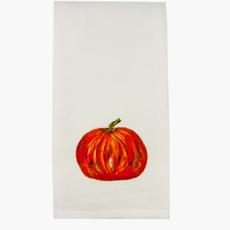 Orange Pumpkin Dishtowel
