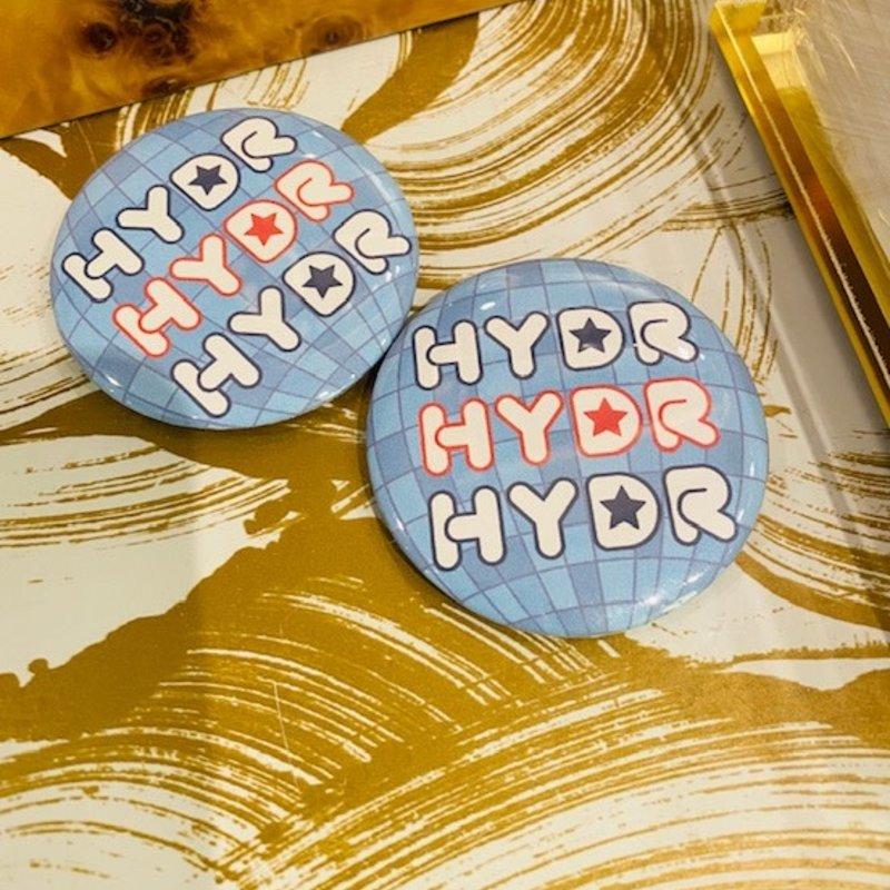 HYDR Disco Button