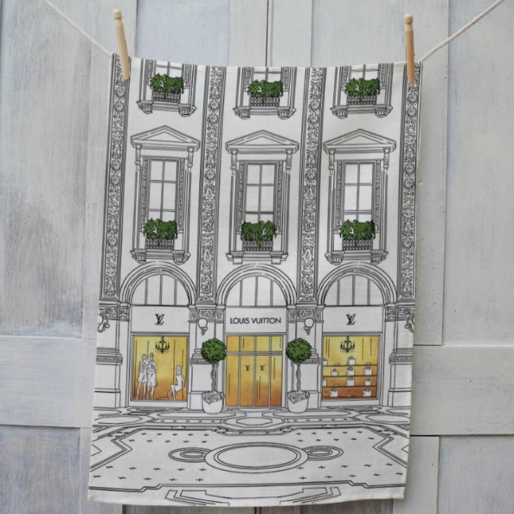 Louis Vuitton Tea Towel