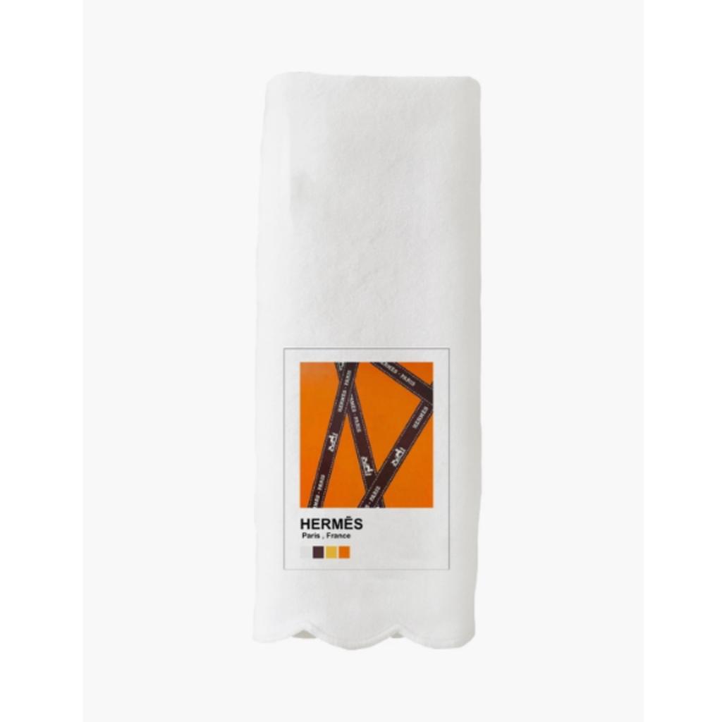 Pantone Scallop Towel