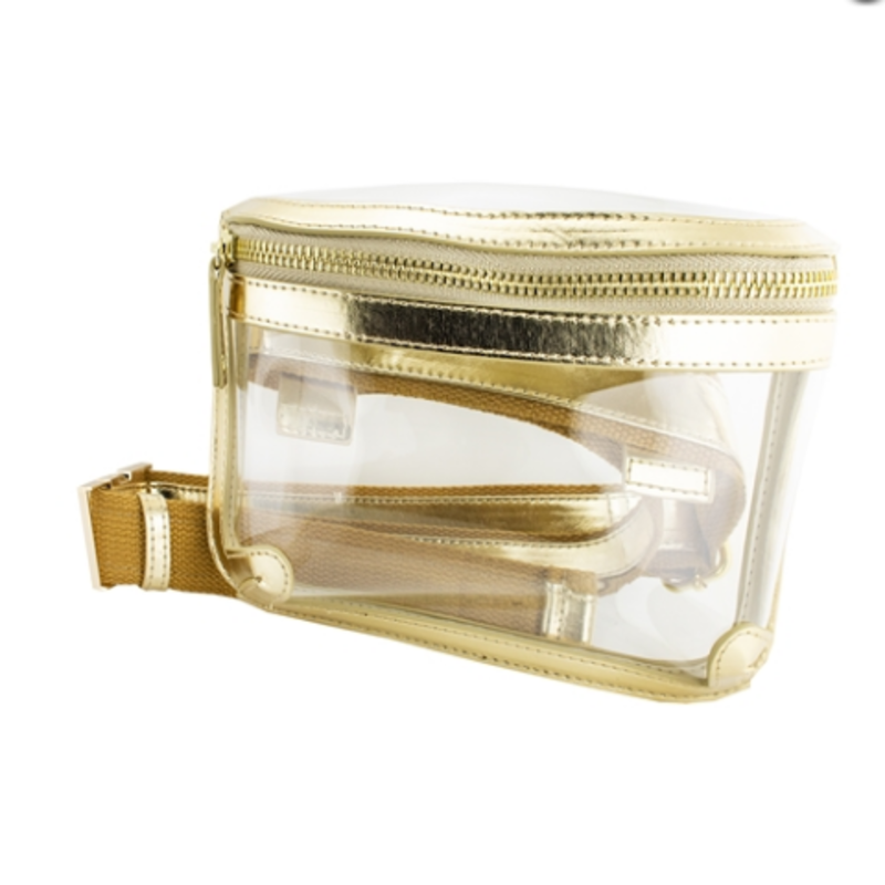 Clear and Gold belt Bag