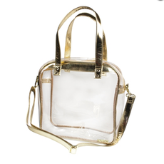Caryall Tote with Gold