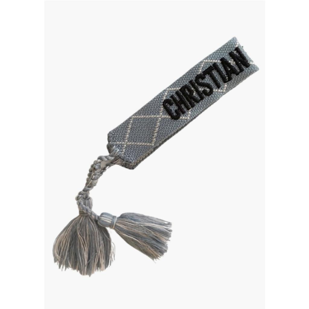 Grey Blue Friendship Bracelet
