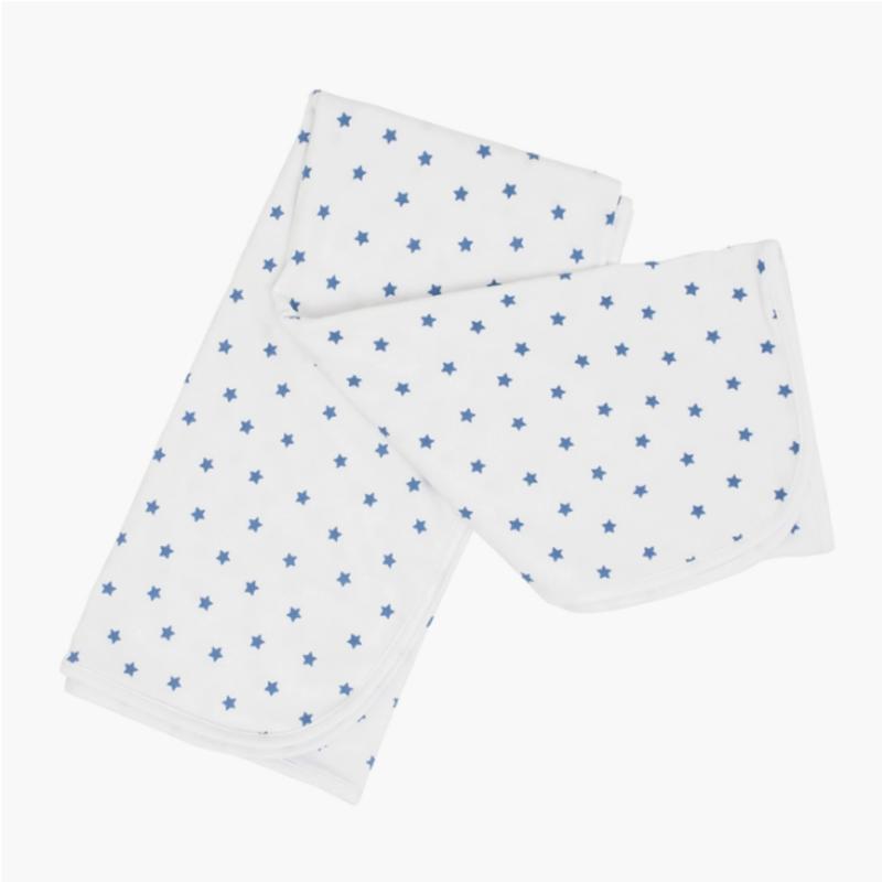 Mini Blue Star Blanket