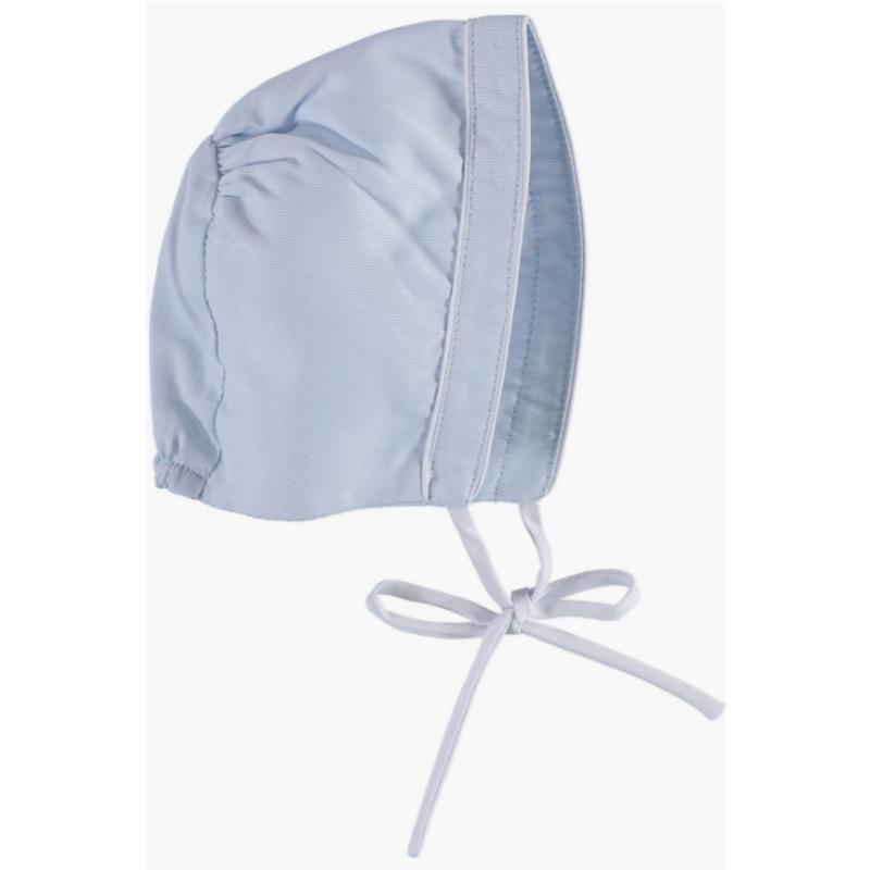 6M Carriage Boutique Baby Boy Bonnet - Blue