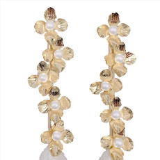 Pearl Frances Mini Floral Dangle