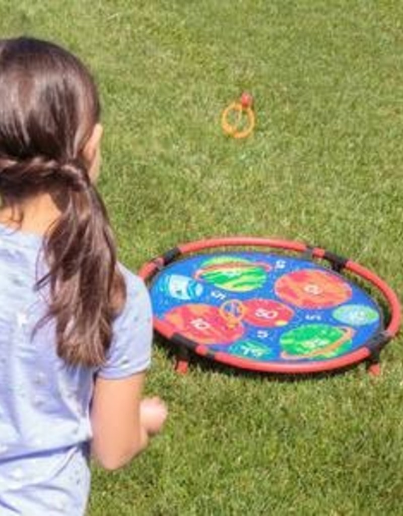 Backyard Magnetic Toss Game -Planets