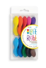 RIGHT LEFT CRAYONS