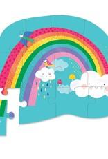 12pc Mini Puzzle/Rainbow Heaven
