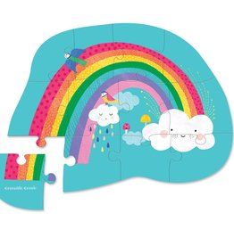 12pc Mini Puzzle/Rainbow Heaven