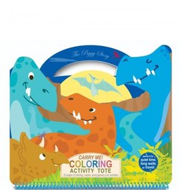 CARRY ME! Coloring Activity Tote-Dinosaur World