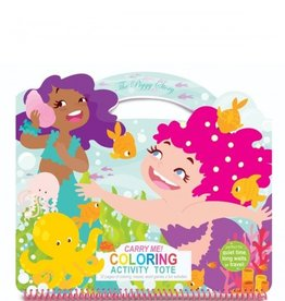 CARRY ME! Coloring Activity Tote-Magical Mermaids