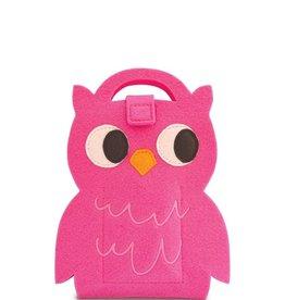Mini Fuzzytown Die-cut ArtFolio-Owl