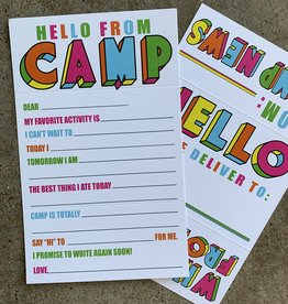 Fold N Seal-Hello From Camp Fill-In