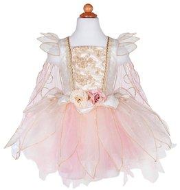 Golden Rose Fairy Dress, Size 5-6