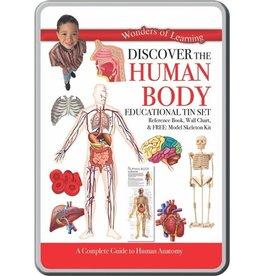 ROUND WORLD HUMAN BODY TIN