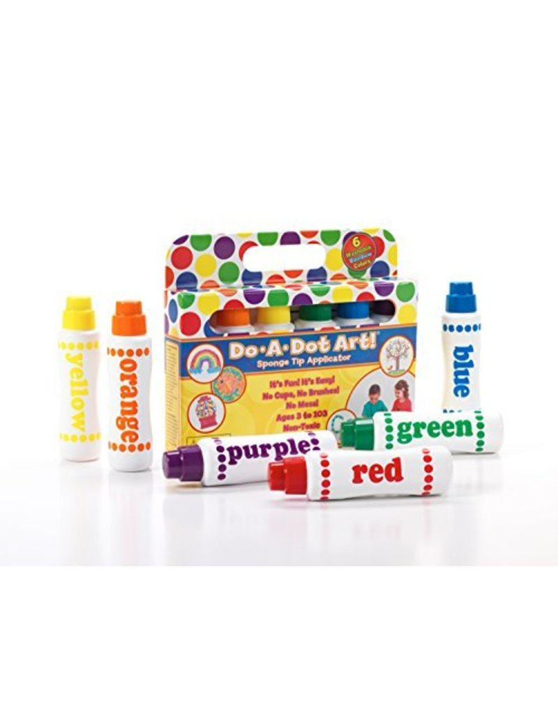 DO A DOT DO A DOT RAINBOW PAINTS 6 PACK