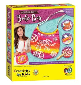 CREATIVITY FOR KIDS DESIGN A BOHO BAG