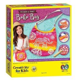 CREATIVITY FOR KIDS *DESIGN A BOHO BAG